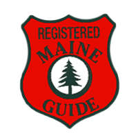 Registered Maine Guide badge